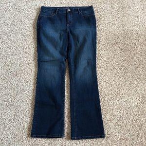 NYDJ Tummy Tuck Marilyn Bootcut Jeans Size 16 EUC